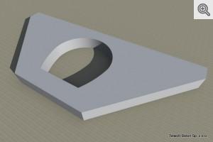 Murek czołowy prosty do przepustu fi 400, 500, 600 - wizualizacja
