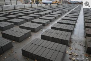 Zdjęcie bloczków betonowych