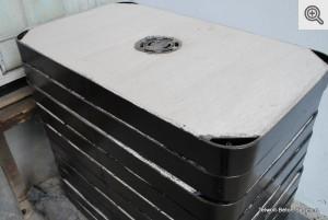 Pokrywa do SK stalowa ciężka 1000x600 z wywietrznikiem, 02